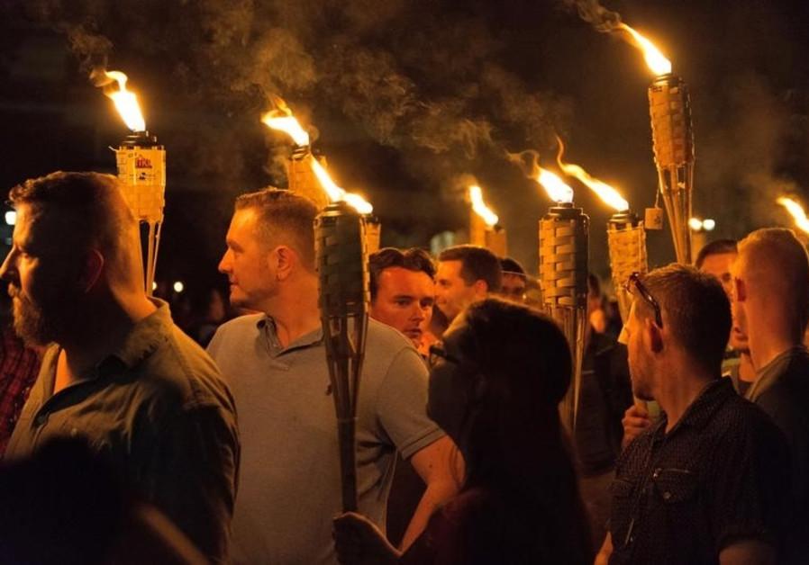 White nationalists from Jerusalem Post